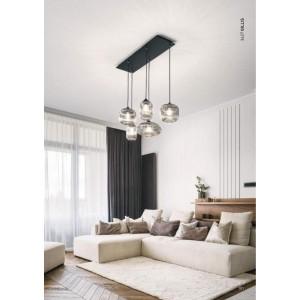 GILLIS Φωτιστικό οροφής κρεμαστό απο γυαλί